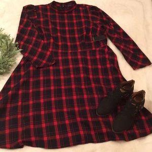 Eloquii Plaid Dress NWT